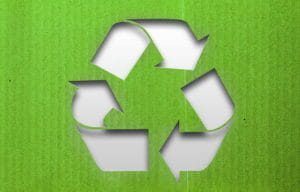 recycling arrows graphic