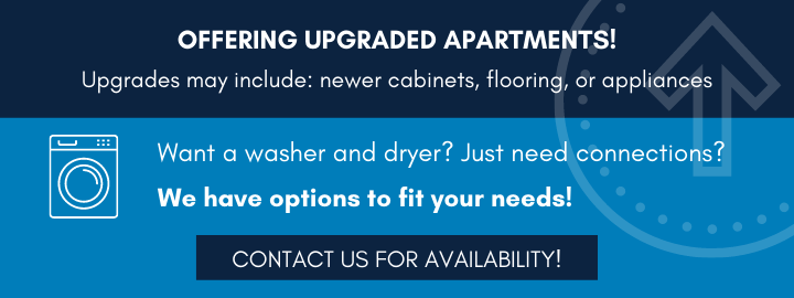 Upgraded Apartments Available
